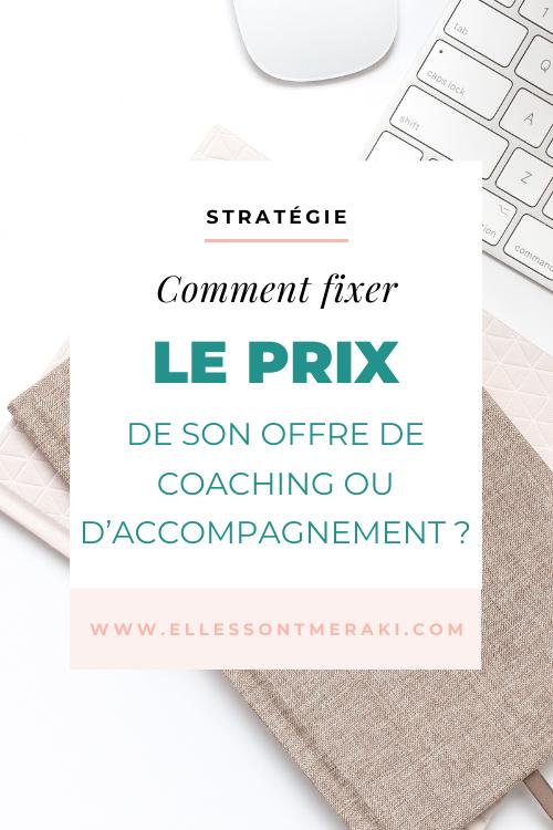 Comment fixer le prix de son offre de coaching ou d'accompagnement ?