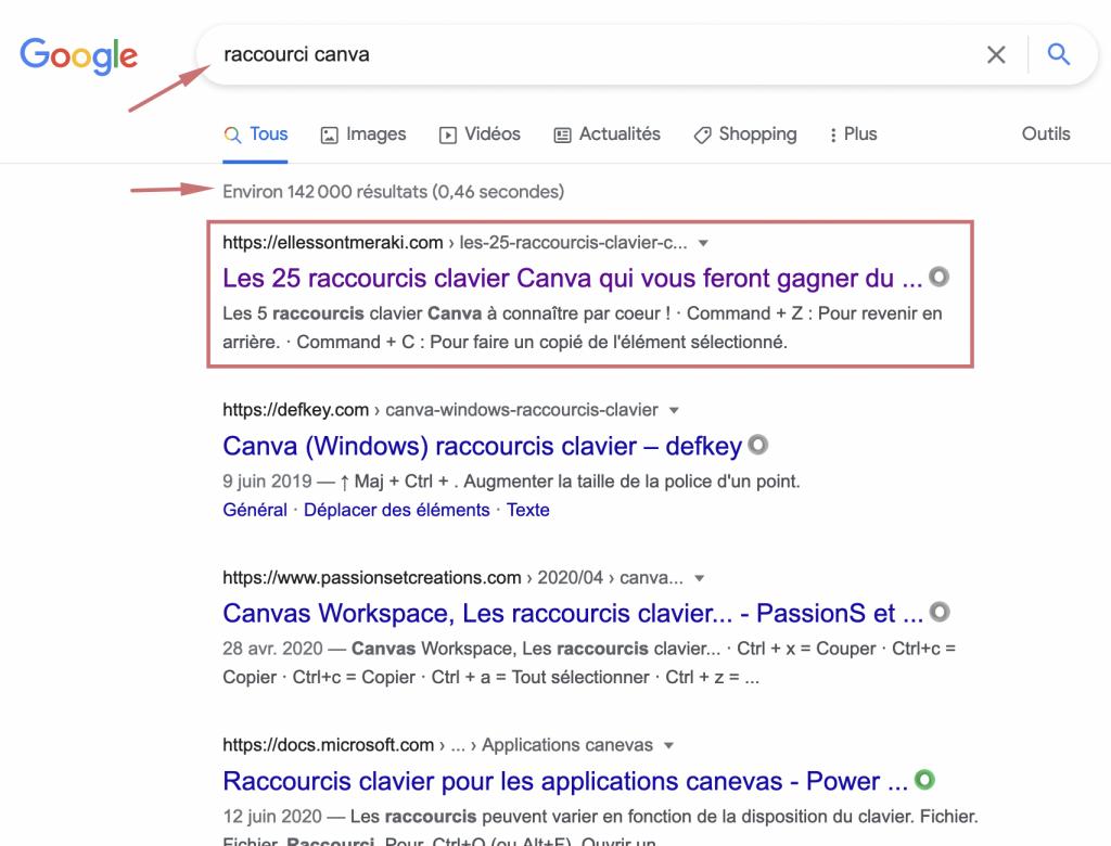 augmenter le trafic en étant en première page de Google